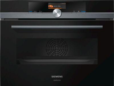 Siemens Kompaktbackofen mit Mikrowelle CM836GPB6