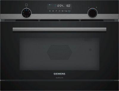 Siemens Einbau-Mikrowelle mit Dampfgarfunktion CP465AGB0