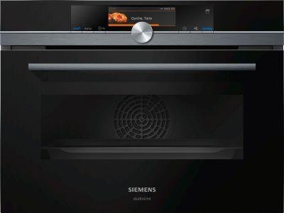 Siemens Kompaktdampfbackofen Studioline CS858GRB6