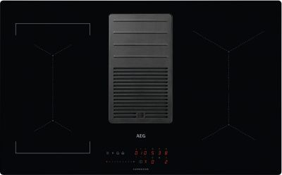 AEG Kochfeld-Dunstabzug-Kombination IDE84244IB