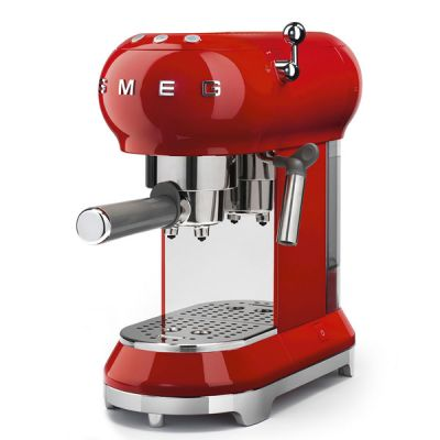 SMEG Espresso-Kaffeemaschine ECF01RDEU