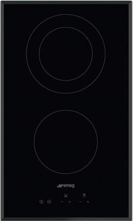 SMEG Domino-Glaskeramik-Kochfeld SE332EB