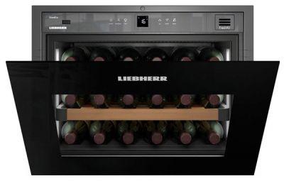 Liebherr Einbauweinklimaschrank WKEgb582-20