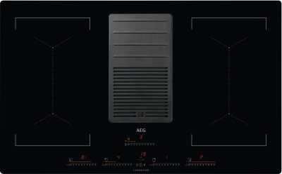 AEG Kochfeld-Dunstabzug-Kombination IDK84453IB