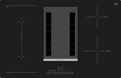Bosch Induktions-Kochfeld m. Abzug PVS801F21E