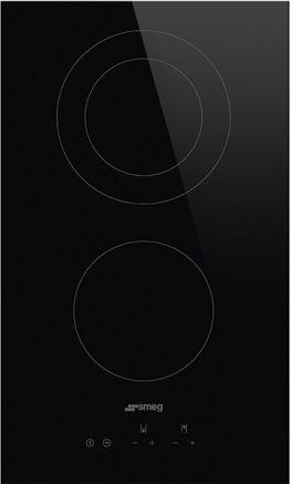 SMEG Domino-Glaskeramik-Kochfeld SE332ED