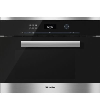 Miele Dampfgarer mit Mikro DGM6401-CLST-A