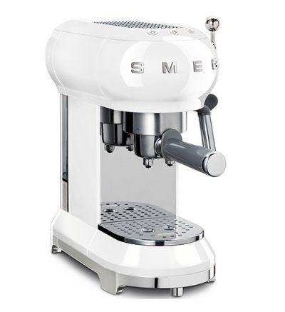 SMEG Espresso-Kaffeemaschine ECF01WHEU