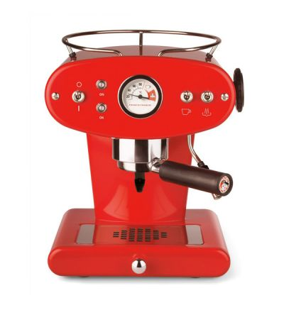 Illy Espressomaschine X1 Ground-Rot